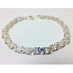 Bransoleta srebrna EURO BM15