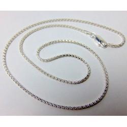 Łańcuszek ze srebra 45cm LS5