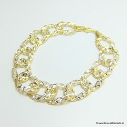 Bransoleta złocona B84