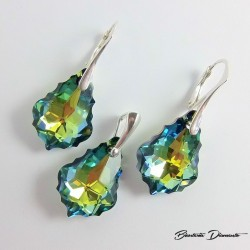 Biżuteria srebrna z kryształkami Swarovski® Baroque Sahara