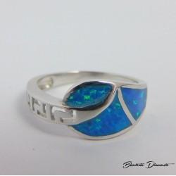 Delikatny pierścionek ze srebra