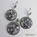 Komplet biżuterii z cyrkoniami KY120