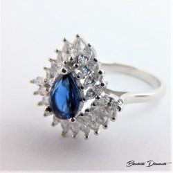 Srebrny pierścionek P64